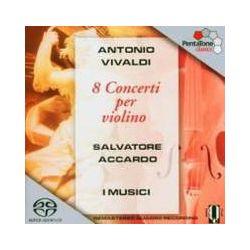 Musik: 8 Concerti Per Violino  von Salvatore Accardo, I. Musici