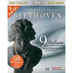Musik: Die 9 Sinfonien von Beethoven  von Dresdner Philharmonie, Herbert Kegel