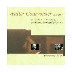 Musik: Courvoisier-suiten Für Violine  von Hansheinz Schneeberger