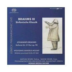 Musik: Brahms III: Sinfonische Klassik  von M. Seiler, Brogli-Sacher, Phil.Orch.Lü