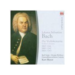 Musik: Bach:Violinkonzerte  von Gewandhausorchester Leipzig, Masur, Suske, Kröhner, GOL
