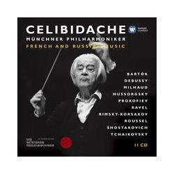 Musik: Celibidache 3:Franz.& Russ.Musik  von Sergiu Celibidache, Mp