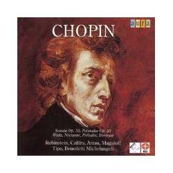 Musik: Chopin: Sonata op.35,Polonaise op.53,Waltz,  von Rubinstein, Cziffra, ARRAU, Magaloff, Tipo