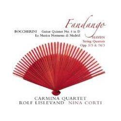 Musik: Boccherini: La Musica Notturna Di Madrid,Fandango  von Rolf Carmina Quartet & Lislevand