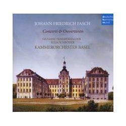Musik: Concerti & Ouvertüren  von Kammerorchester Basel, J. Schröder, G. Sommerhalder