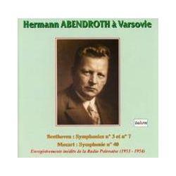 Musik: Hermann Abendroth in Warschau  von Abendroth, Philharmonisches Orchester Warschau