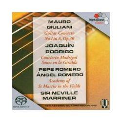 Musik: Concierto Madrigal/Gitarrenkonzert  von Romero, Marriner, AMF