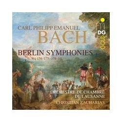 Musik: Berliner Sinfonien Wq 174,175+178-181  von Christian Zacharias, OCL