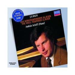 Musik: Das Wohltemperierte Klavier (GA)  von Andras Schiff