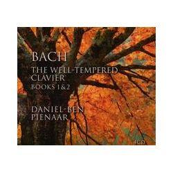 Musik: Bach:The Well-Tempered Clavier Books 1 & 2  von Daniel-Ben Pienaar