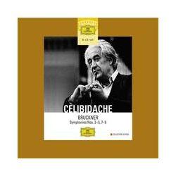 Musik: Anton Bruckner: Sinfonien Nr. 3-5 und Nr. 7-9  von Sergiu Celibidache, Radio-Sinfonieorchester Stuttgart, Swedish Radio Symphony Orchestra