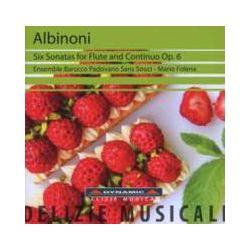 Musik: 6 Sonaten für Flöte und Continuo op.6  von Ensemble Barocco Padovano Sans Souci, Mario Folena