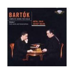 Musik: Complete Works For ViolIn Vol.1  von Antal Zalai