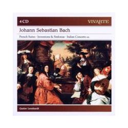 Musik: French Suites; Inventions & Sinfonias; Italian Cto  von Gustav Leonhardt