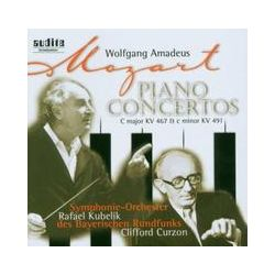 Musik: Klavierkonzerte 21 & 24  von C. Curzon, R. Kubelik, Sobr
