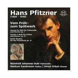Musik: Hans Pfitzner: Vom Früh-Zum Spätwerk  von Reinhold J. Buhl, Heidrun Sandmann, Ulrich Urban