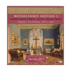Musik: Edition 5-Lieder Ohne Worte/Oktett/Klaviertrios  von D'Arco, Vengerov, Trio Fontenay