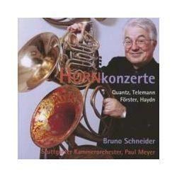 Musik: Hornkonzerte  von Schneider, Meyer, Stuttgarter Kammerorchester