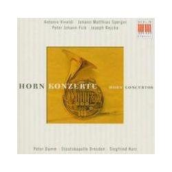 Musik: Hornkonzerte  von Peter Damm, SD, Siegfried Kurz