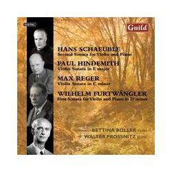Musik: Violin Sonatas  von Bettina Boller, Walter Prossnitz