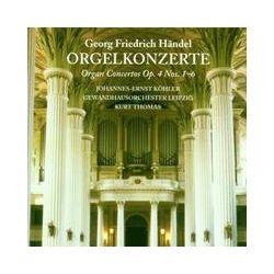Musik: Orgelkonzerte op.4,1-6  von Köhler, Kästner, Thomas Mann, GOL