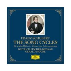 Musik: Die Liederzyklen  von Gerald Moore, Dietrich Fischer-Dieskau