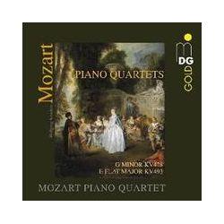 Musik: Klavierquartette KV 478+KV 493  von Mozart Piano Quartet
