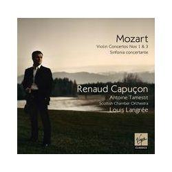 Musik: Violinkonzerte 1 & 3/+  von Renaud Capucon, Langree, Sco