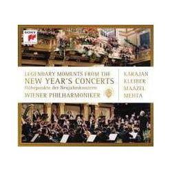 Musik: Höhepunkte der Neujahrskonzerte  von Wiener Philharmoniker, Herbert von Karajan, Kleiber, Lorin Maazel, Mehta