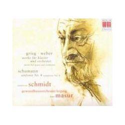 Musik: Klavierkonzerte/Sinfonie 4  von Annerose Schmidt, Kurt Masur, GOL