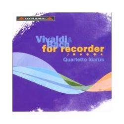 Musik: Vivaldi und Bach für Blockflöten  von Quartetto Icarus