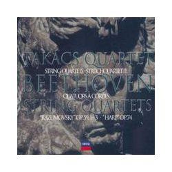 Musik: Streichquartette op.59/74  von Takacs Quartet