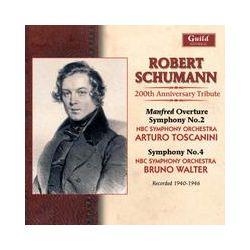 Musik: Schumann Sinf.2+4  von Arturo Toscanini, Walter, NBC Sym.Orch.