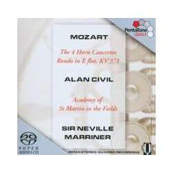Musik: Hornkonzerte 1-4 (GA)/Rondo KV 371  von Alan Civil, Neville Marriner, AMF