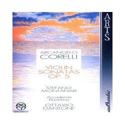 Musik: Violin Sonatas op.5  von Accademia Bizantina, Montanari