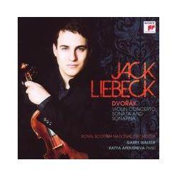 Musik: Violin Concerto,Sonata & Sonatina  von J. Liebeck, K. Apekisheva, Royal Scot.N.O., G. Walker
