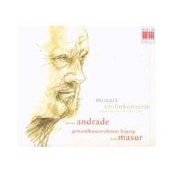 Musik: Violinkonzerte KV 211,268  von Janine Andrade, Kurt Masur, GOL