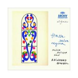Musik: Salve Regina  von Musica Antiqua Köln, B. Bonney, B. Fink, Reinhard Goebel, Mak