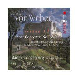 Musik: Klarinettenkonzerte 1+2/Ouvertüren/Concertino  von Martin Spangenberg, Orchester M18