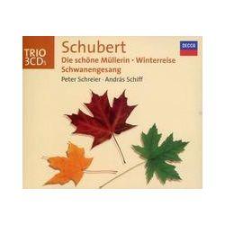 Musik: Schubert: Die schöne Müllerin / Winterreise / Schwanengesang  von Peter Schreier, Andras Schiff