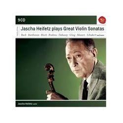 Musik: Jascha Heifetz plays Sonatas for Violin  von Jascha Heifetz