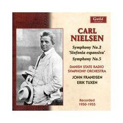 Musik: Nielsen:Sinfonien 3+5  von Frandsen, Tuxen, Danish State Radio Symphony