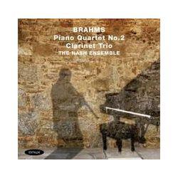 Musik: Klavierquartett 2/Klarinettentrio op.114  von The Nash Ensemble