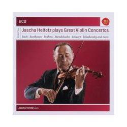 Musik: Jascha Heifetz Plays Great Violin Concertos  von Jascha Heifetz
