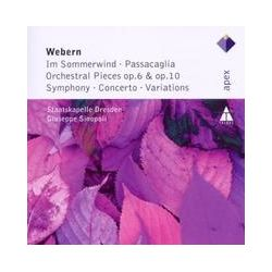 Musik: Works For Orchestra(Im Sommerwind/Passacaglia/Conc  von Giuseppe Sinopoli, SD