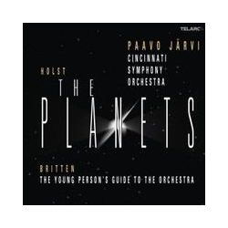 Musik: Holst: The Planets+Britten: Young Person's Guide  von Paavo Järvi