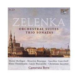 Musik: Zelenka: Orchestral Works,Trio Sonatas  von Heinz Hollinger, Hans Elhorst, Barry Tuckwell