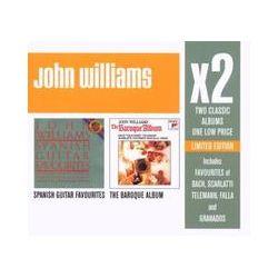 Musik: X 2 (The Baroque Album/Spanish Guitar Favourites)  von John Williams