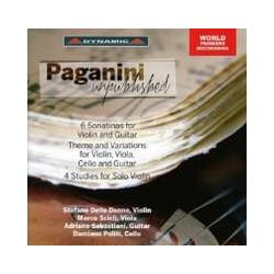 Musik: Paganini unveröffentlicht  von Delle Donne, Scicli, Puliti, Sebastiani