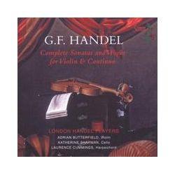 Musik: Sämtliche Sonaten Für Violine Und BC (GA)  von Butterfield, Sharman, Cummings